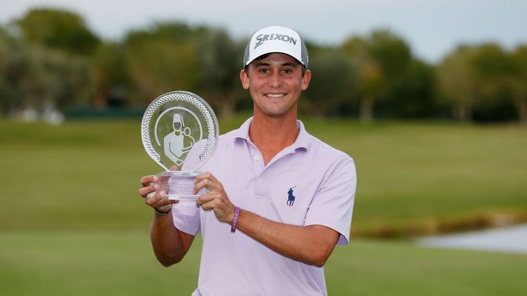 Smiley Kaufman is one of a number of young rookies to have won on the PGA Tour