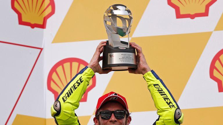 Rossi has enjoyed a phenomenal career, winning seven MotoGP World Championships