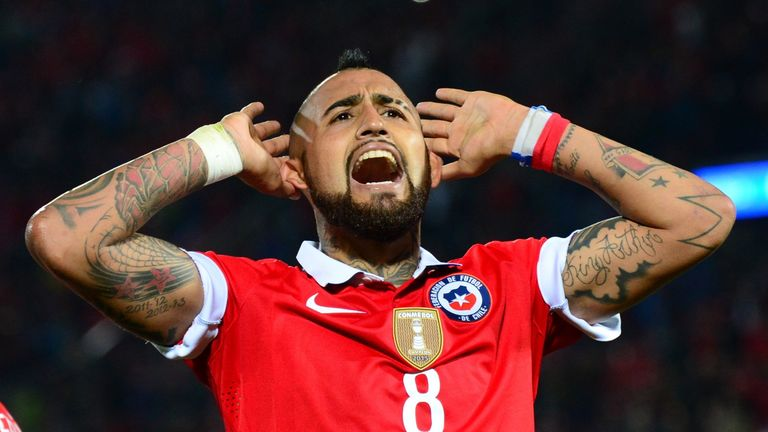 Arturo Vidal enjoyed international success with Chile