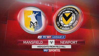 Mansfield 3-0 Newport