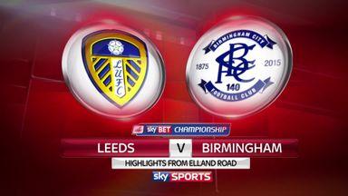 Leeds 0-2 Birmingham