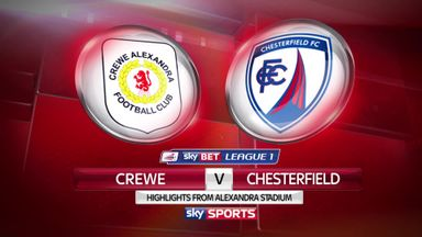 Crewe 1-2 Chesterfield