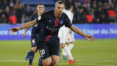 Zlatan Ibrahimovic is now PSG's all-time top scorer