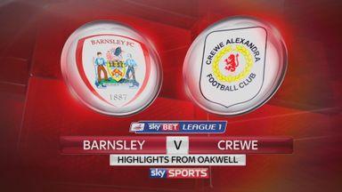 Barnsley 1-2 Crewe