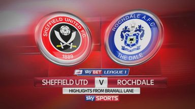 Sheffield United 3-2 Rochdale
