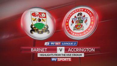 Barnet 1-2 Accrington
