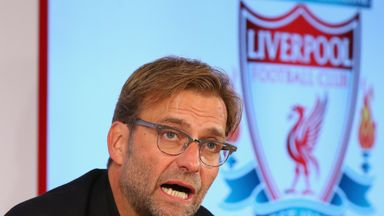 Jurgen Klopp is unveiled as the new manager of Liverpool