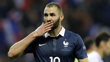 Karim Benzema should not be in the national squad for Euro 2016, according to French prime minister Manuel Valls