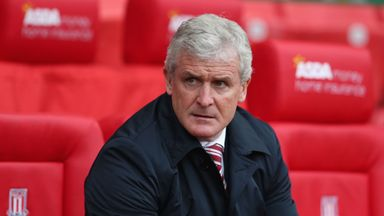 Mark Hughes was unhappy with his Stoke team's overall performance against Watford