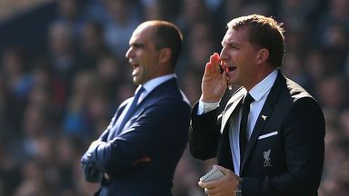 Brendan Rodgers' final game in charge was Sunday's Merseyside derby