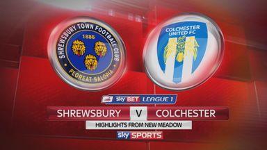 Shrewsbury 4-2 Colchester