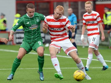 Ziggy Gordon holds off Leigh Griffiths