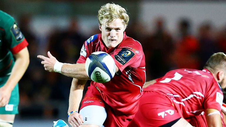 Scarlets scrum-half Aled Davies focusing on potential first-ever start for Wales
