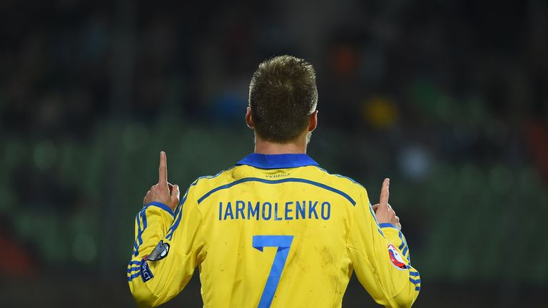 Andriy Yarmolenko is Ukraine and Dynamo Kiev's key man