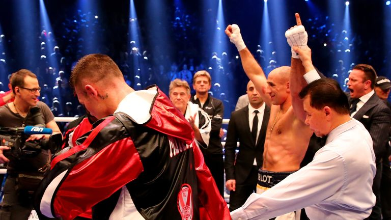 Martin Murray lost to Arthur Abraham on German soil in 2016