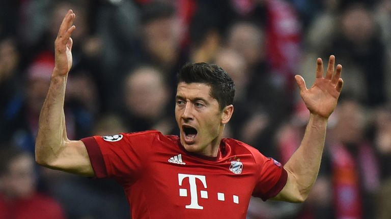 Robert Lewandowski scored five in one game as a sub earlier this season