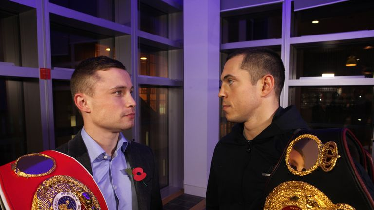 Frampton was Froch's close favourite, but not any more