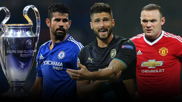 What do Chelsea, Arsenal and Manchester United need to do to qualify for the Champions League knockout stages?