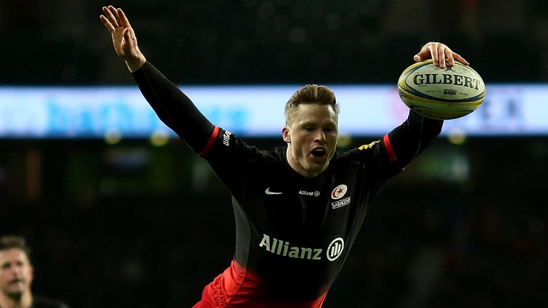 Chris Ashton has scored three tries in two games since his return from suspension