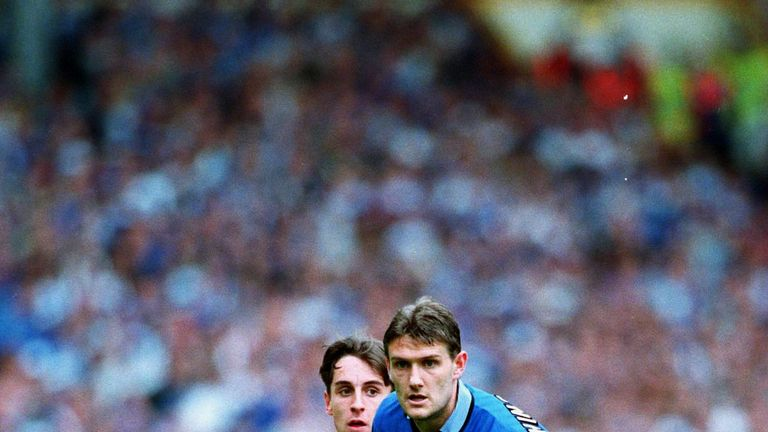 Hinchcliffe made over 200 appearances for Everton in the 1990s