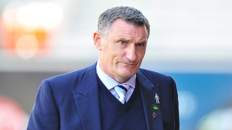 Tony Mowbray will be hoping to halt the slide at Coventry
