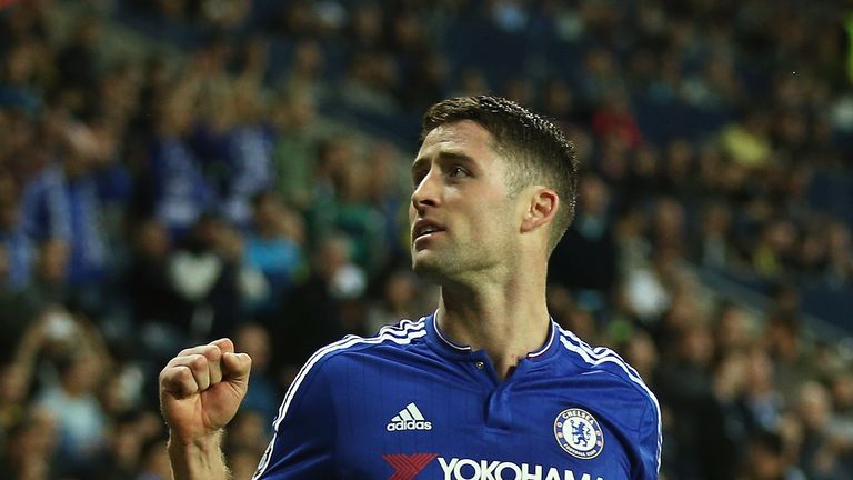 Gary Cahill helped Chelsea to a morale-boosting win over Maccabi Tel-Aviv