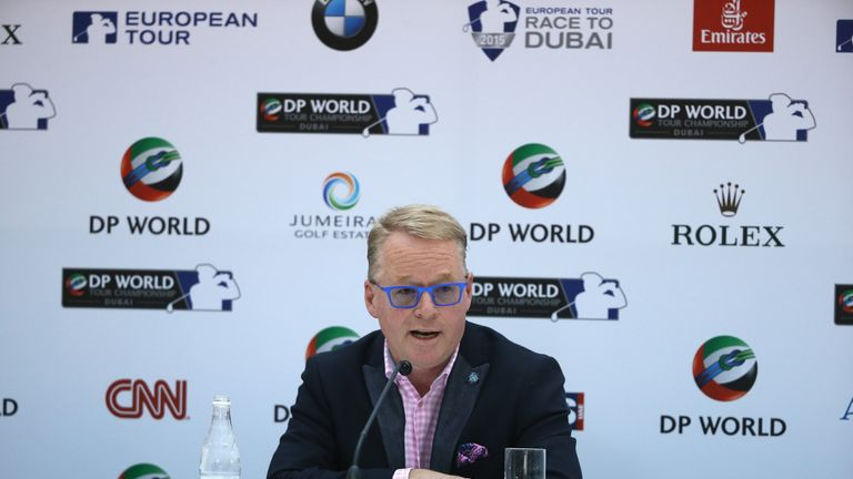 European Tour chief executive Keith Pelley put slow play on his hit list last November