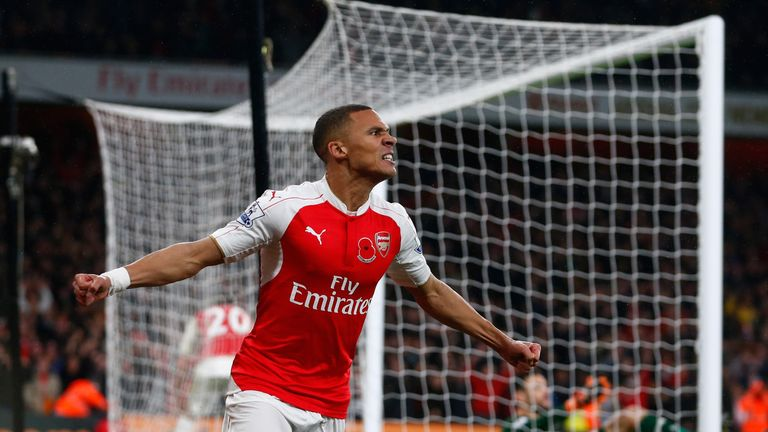 Kieran Gibbs is in the last year of his Arsenal contract and has been told he can go