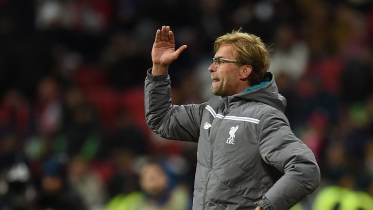 Klopp has cut a passionate figure on the touchline since his arrival at Liverpool