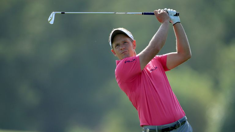 Luke Donald's last appearance saw him finish tied-13th at the DP World Tour Championship