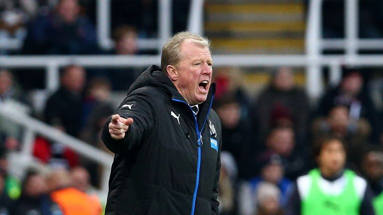 Newcastle United manager Steve McClaren has won just two of his 13 league games in charge of the club