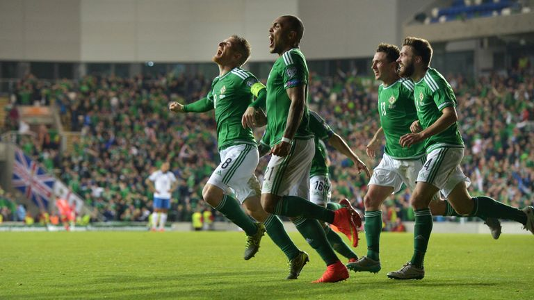 Northern Ireland are heading for Cardiff in March