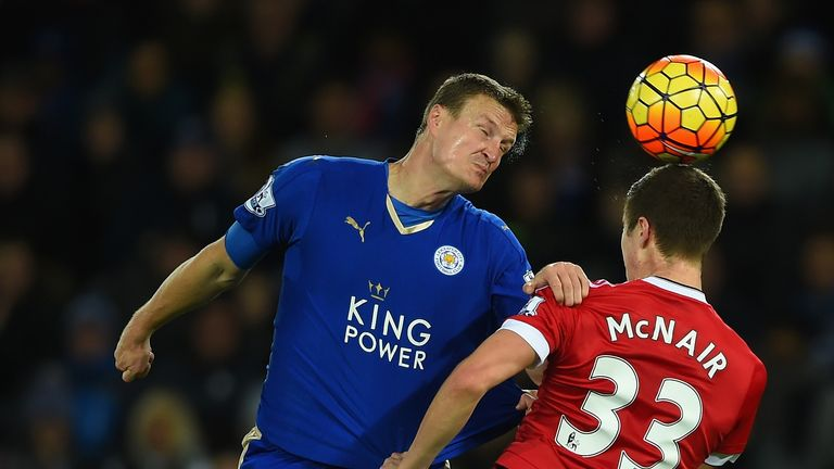 See Leicester face Man Utd on May 1