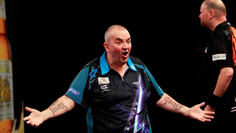 when did phil taylor start playing darts