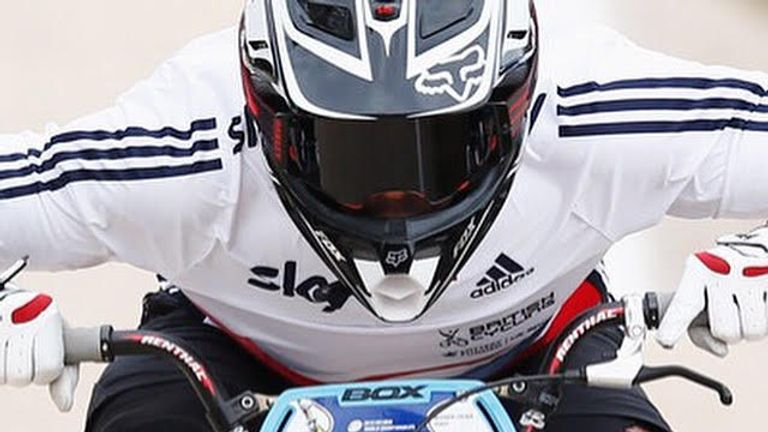 Quillan Isidore got into BMX at the age of seven and has big targets