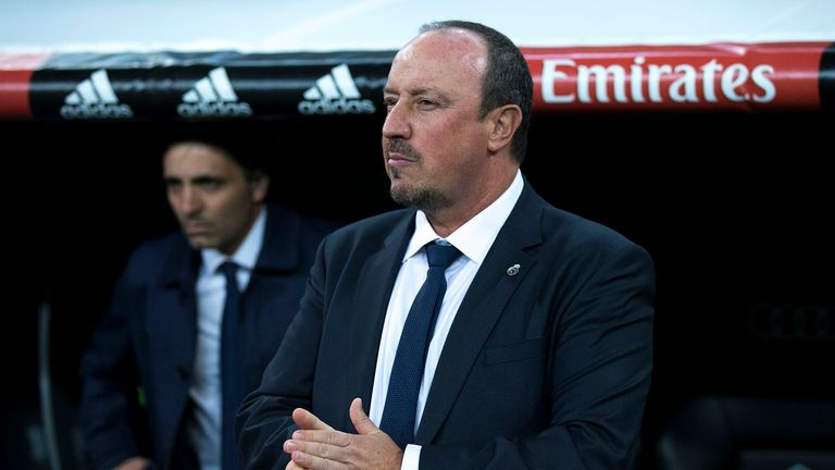 Newcastle have approached the representatives of Rafa Benitez