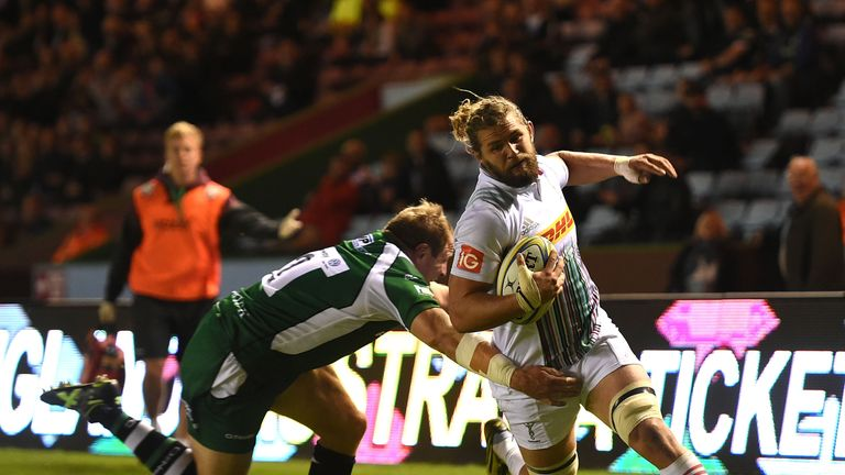 Luke Wallace returns for Quins against London Irish