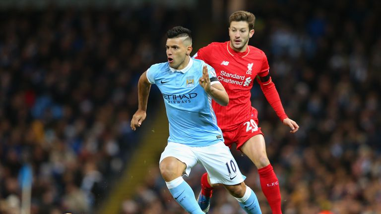 Sergio Aguero has recently returned from injury