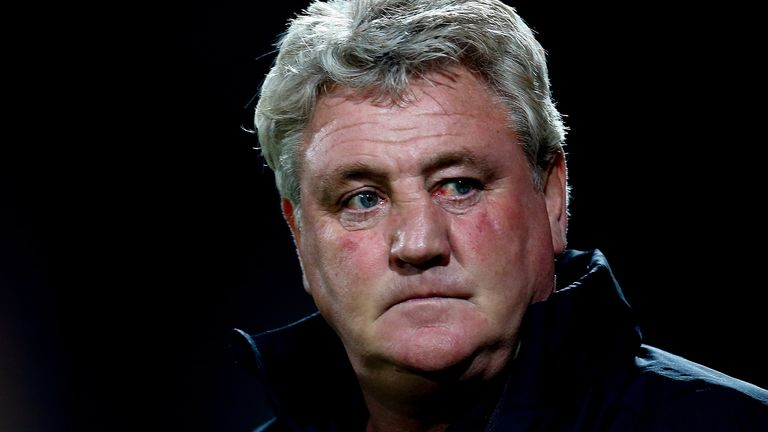 Steve Bruce has steered his side back to the top