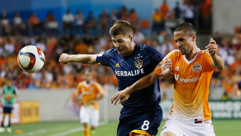 Houston Dynamo beat Steven Gerrard and LA Galaxy 3-0 in July