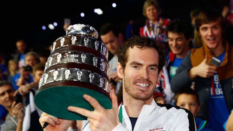 Image result for andy murray davis cup 2015