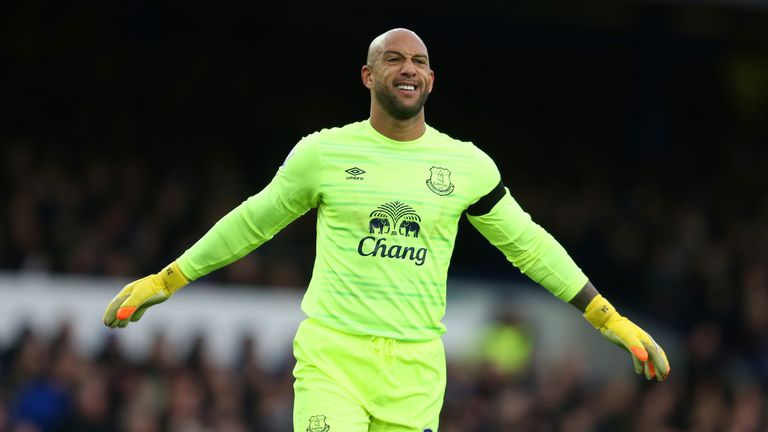 Tim Howard will play his last game for Everton
