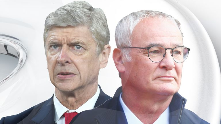 Ranieri will go head to head with Arsene Wenger on Super Sunday