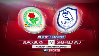 Blackburn 2-2 Sheffield Wednesday