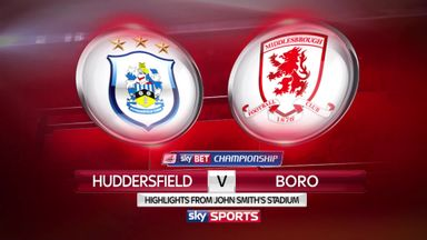 Huddersfield 0-2 Middlesbrough