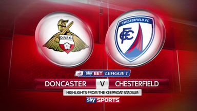 Doncaster 3-0 Chesterfield