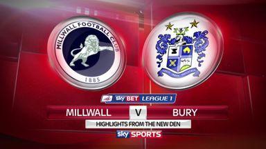 Millwall 1-0 Bury