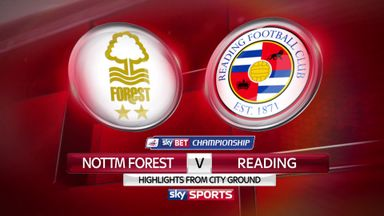 Nottingham Forest 3-1 Reading