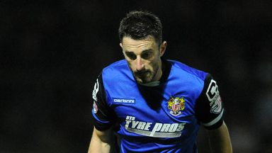 Chris Whelpdale of Stevenage: Hat-trick hero