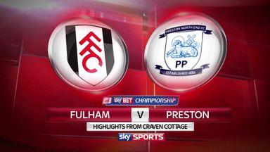 Fulham 1-1 Preston